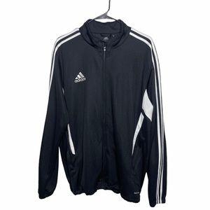 Adidas Climacool Zip Up Tri Stripe Track Jacket